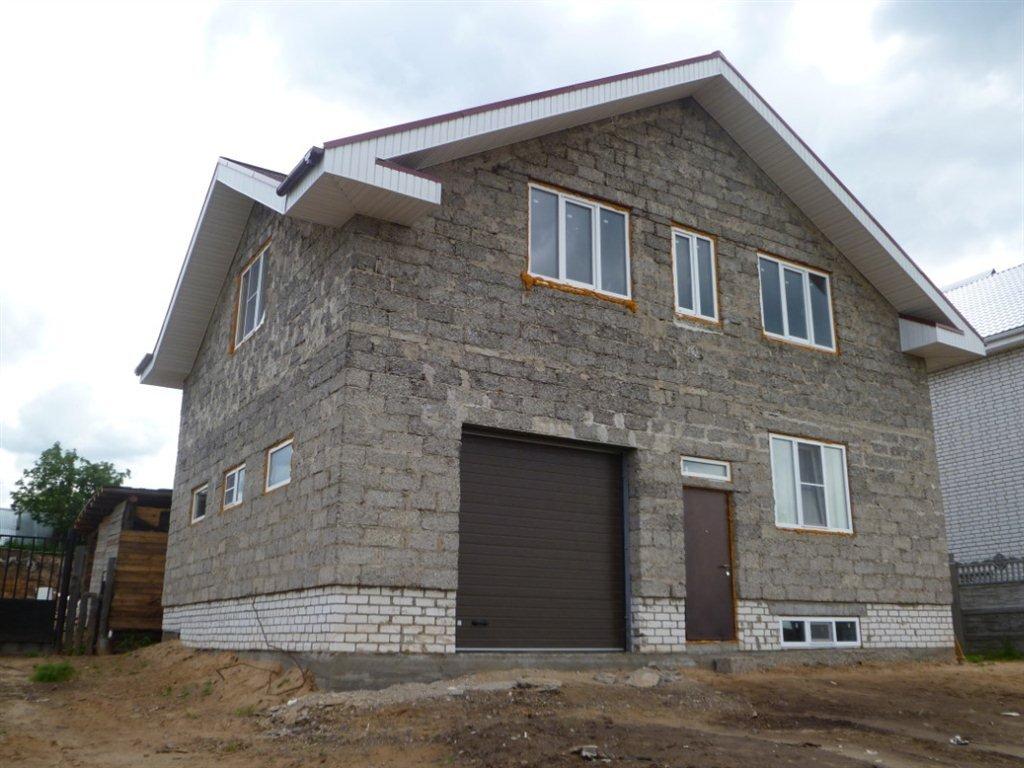 дом из арболитовые блоки