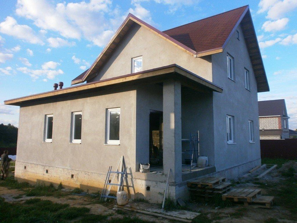 держащий дома полутораэтажные из блоков фото этом можно